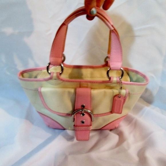 2a88d1c5 COACH 1881 SOHO LEATHER Purse Shoulder Bag Mini To
